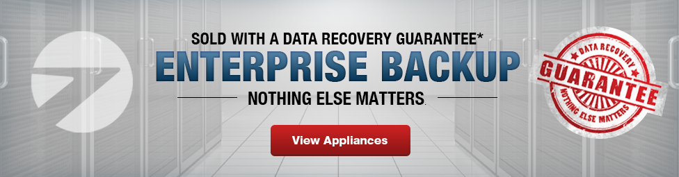 Enterprise Backup Appliance Solutions