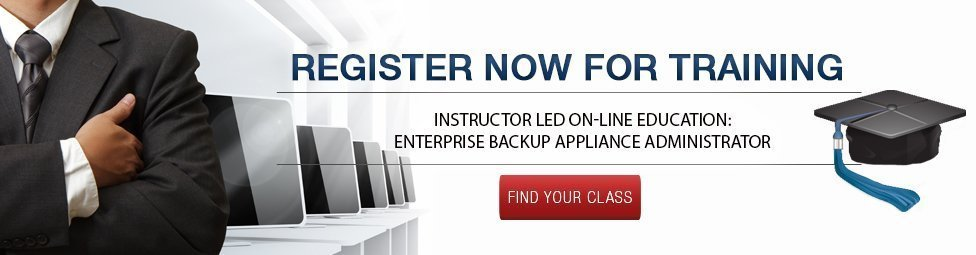 Backup Administrator Training