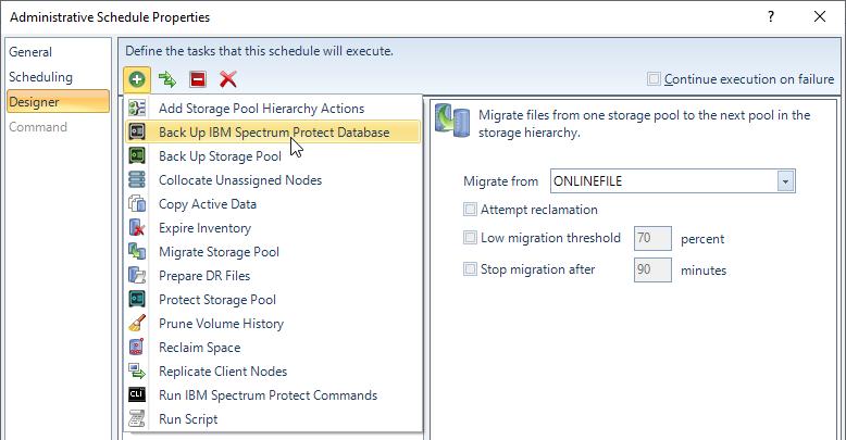 SSC Schedule Designer screenshot